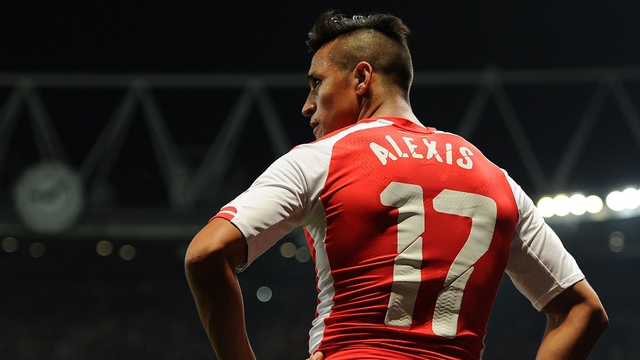 LONDON, ENGLAND - SEPTEMBER 23:  Alexis Sanchez of Arsenal during the Capital One Cup 3rd match between Arsenal and Southampton at Emirates Stadium on September 23, 2014 in London, England.  (Photo by David Price/Arsenal FC via Getty Images)
